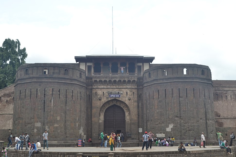 The entrance of Shaniwar Wada.
