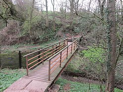 The footbridge over Boomby Gill (geograph 2885145).jpg