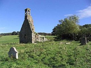 Abbotrule village in United Kingdom