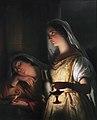 The wise and the foolish virgin, by Jan Adam Kruseman.jpg