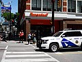 This cop car was blasting its siren on Yonge Street, 2016 07 16 (1).JPG - panoramio.jpg