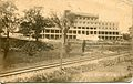 This unused postcard shows the HRER tracks running past the Hotel Brant in Burlington.jpg