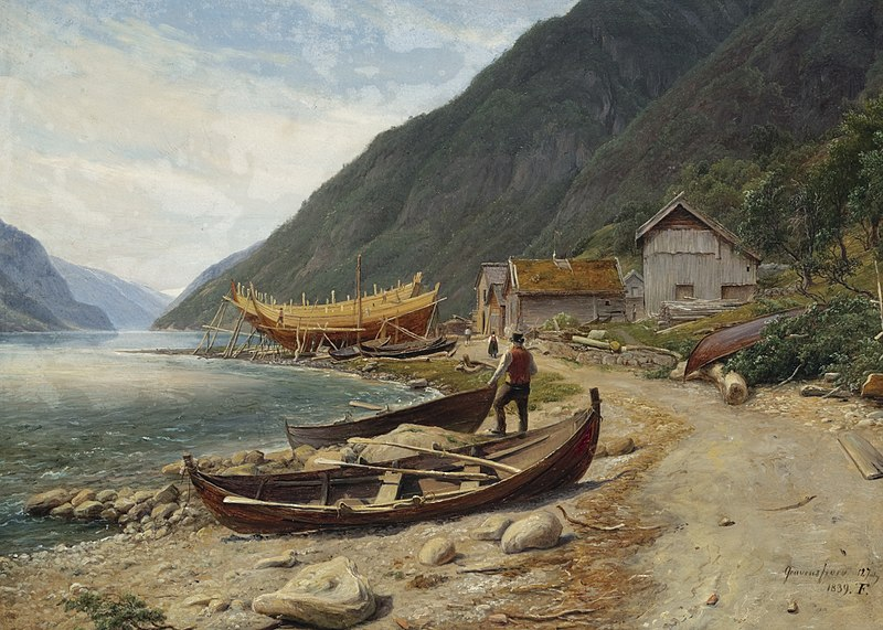 File:Thomas Fearnley - Gravensfjord (1839).jpg