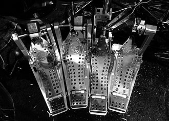 Thomas Lang - Image: Thomas Lang's Drum Workshop MCD left side pedals