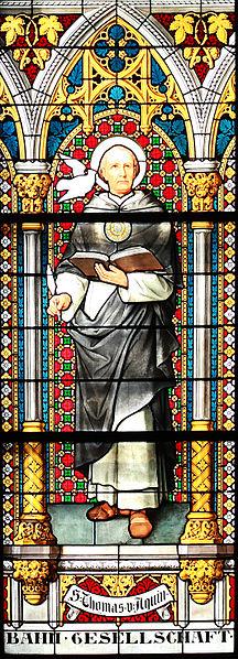File:Thomas von Aquin im Glasfenster des Kölner Domes.jpg