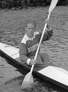 Thorvald Strömberg Olympic canoeist