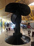 Three Ladies of Barajas (2004) by Manolo Valdés - Terminal 4 - 3.JPG