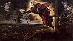 Tintoretto, Jacopo - Creation of the Animals - 1551-52