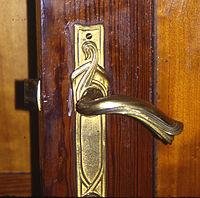 Tirador de puerta. Hotel Horta. Bruselas