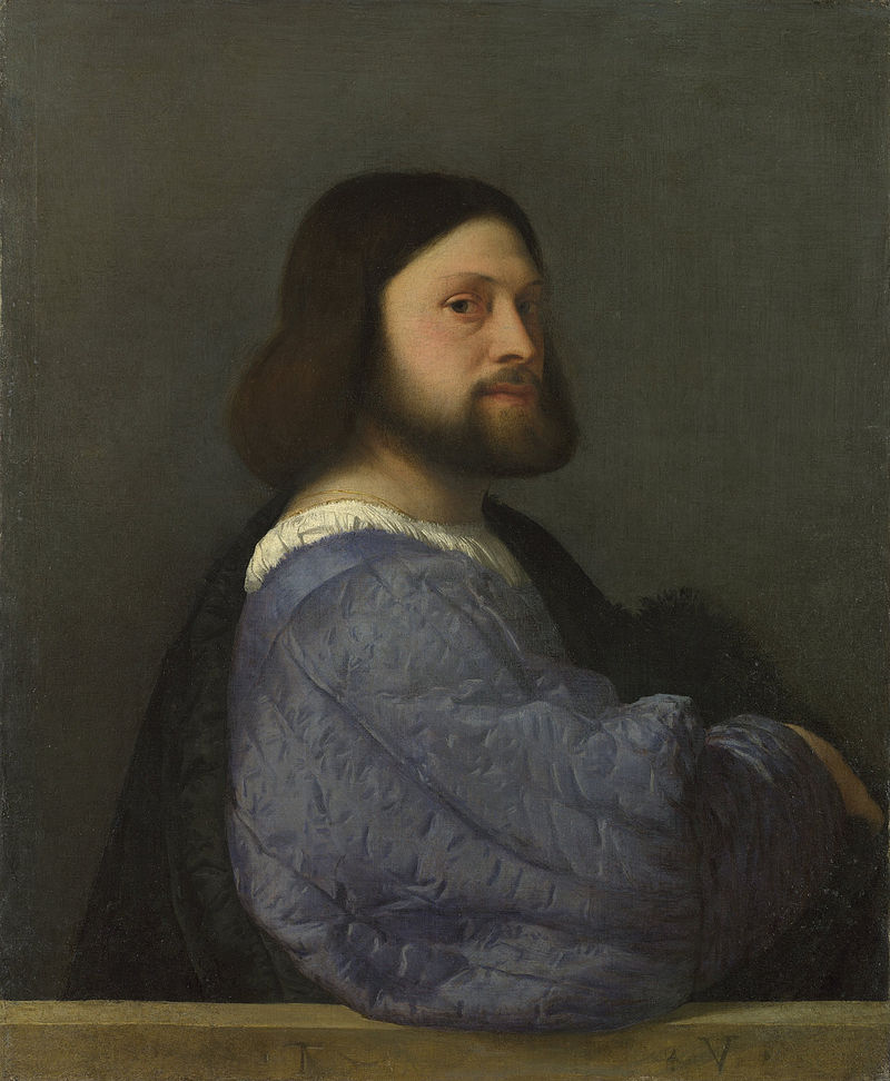 Titian - A Man with a Quilted Sleeve - Google Art Project.jpg