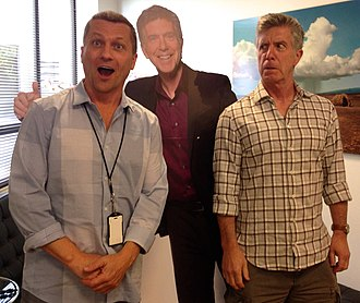 Todd Thicke - Todd Thicke and Tom Bergeron