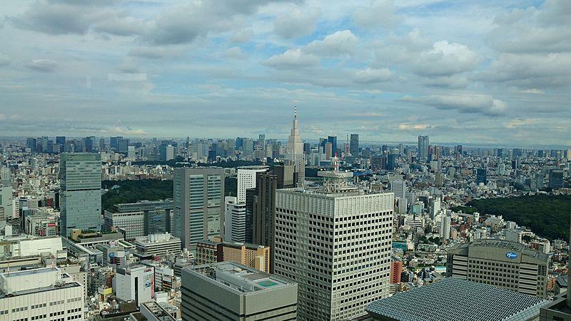File:Tokio skyline from Tokyo Metropolitan Government Building.jpg