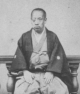 Japanese samurai of the late Edo period