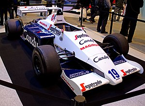 Toleman TG184 - Image: Toleman TG184 front right 2012 Autosport International
