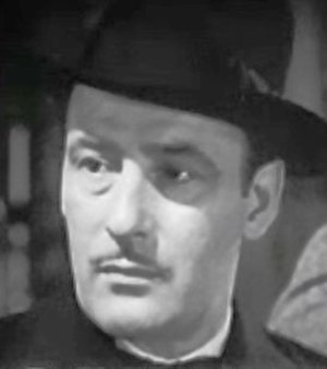 Tom Conway - from the trailer for Grand Central Murder (1942)