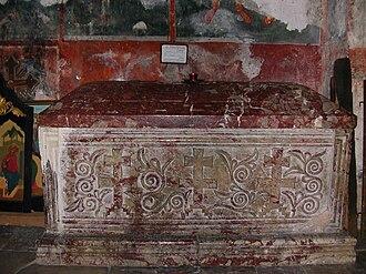 Jefrem (patriarch) - Tomb of Jefrem.