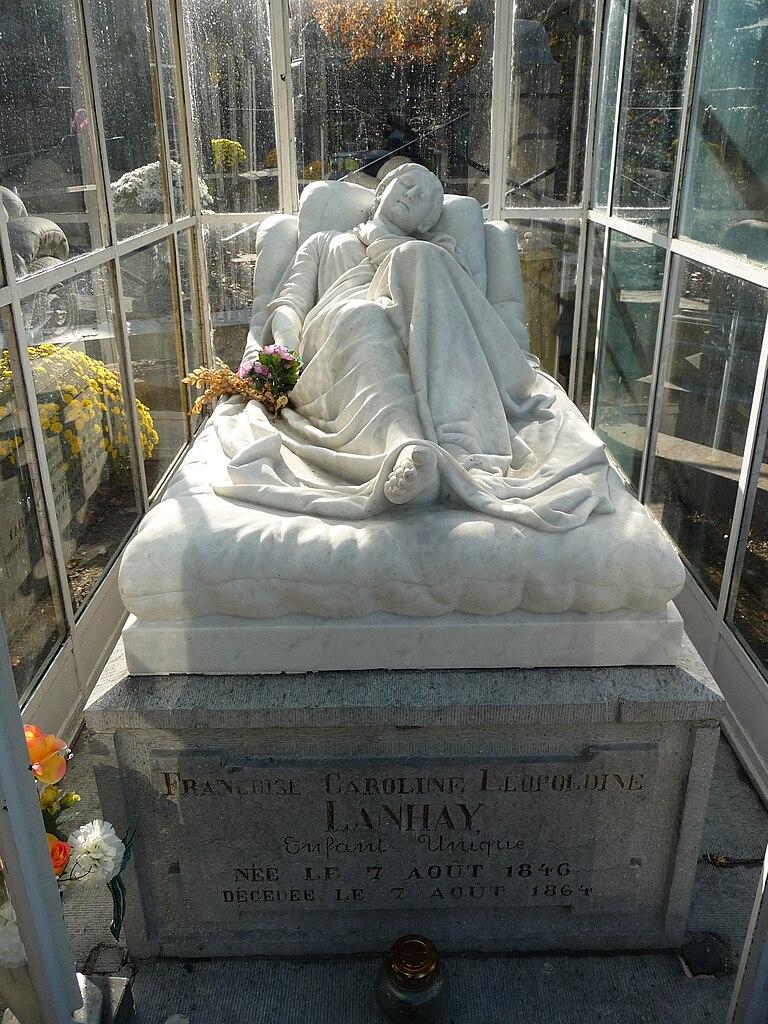 fichier tombe de fran oise lanhay 1846 1864 sculpture en marbre de jean joseph halleux jpg. Black Bedroom Furniture Sets. Home Design Ideas