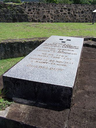 Jean-Jacques Ambert - The tomb of Ambert is at Fort Delgrès in Basse-Terre, Guadeloupe