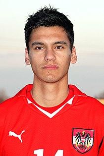 Toni Vastic (FC Bayern München), Austria U-19 (01).jpg