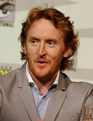 Tony Curran - Curran at the Defiance Panel at the 2013 SDCC