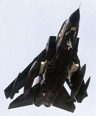 No. 27 Squadron RAF - A 27 Sqn Tornado GR1 in 1988.