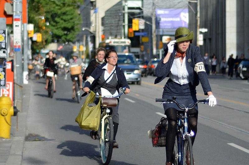 File:Toronto Tweed Bicycle Ride September 2012.jpg