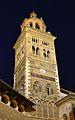 Torre de la catedral de Terol de nit.JPG
