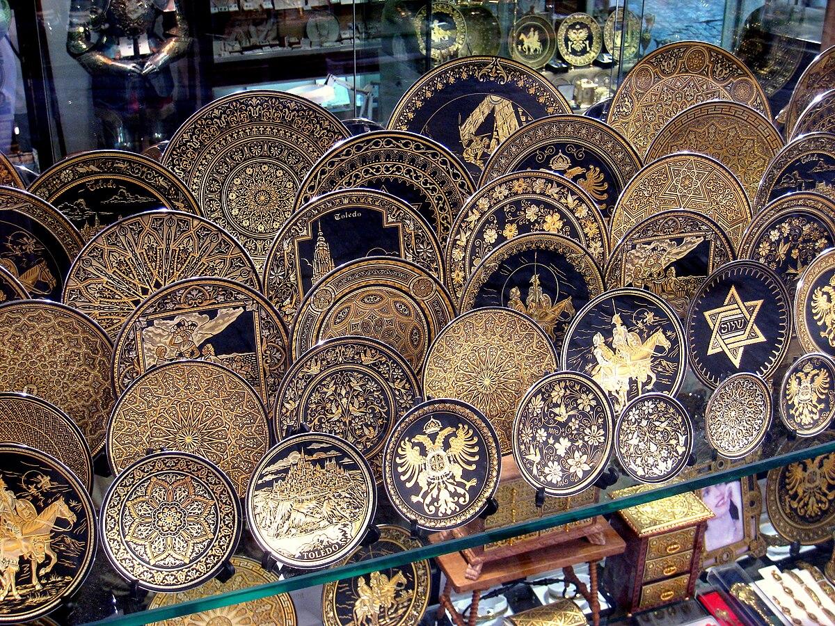 Damascening - Wikipedia | 1200 x 900 jpeg 522kB