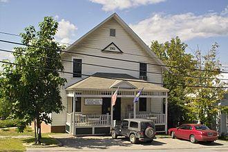 Hinesburg, Vermont - Hinesburg town hall