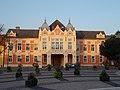 Town Hall at sunrise, 2016 Szekszard.jpg