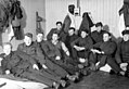 Trønderbataljonens soldater forlagt ved Middelskolen i Vadsø (1940) (4733086771).jpg