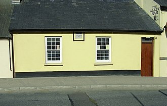 Irish Land and Labour Association - Image of one of Ireland's oldest and still active  Trades Union halls in Kanturk erected 1881.