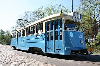SM91 - M25 tram in Gothenburg