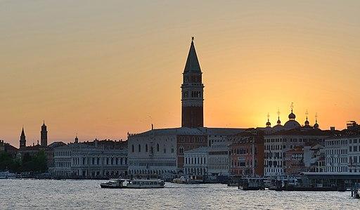 Tramonto su San Marco Venezia 2
