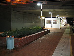 Belmont Park railway station, Perth - Station in June 2005