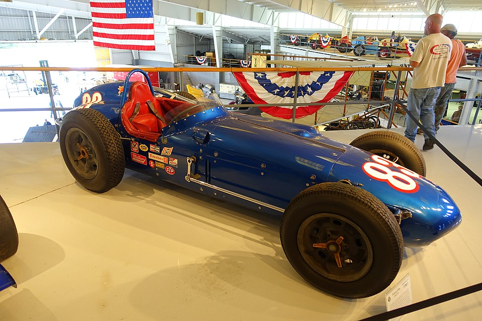 Trevis-Offy Indy car, 1961 - Collings Foundation - Massachusetts - DSC07063