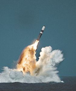 Trident II missile image