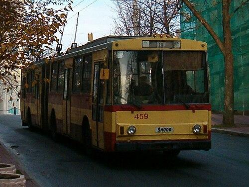 Троллейбус Škoda 15Tr 18-го