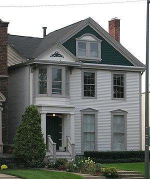 Charles Trowbridge House - Image: Trowbridge House Detroit MI