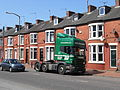 Truck parked on Birkenhead Road, Seacombe.JPG