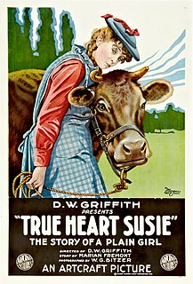 <i>True Heart Susie</i> 1919 film by D. W. Griffith