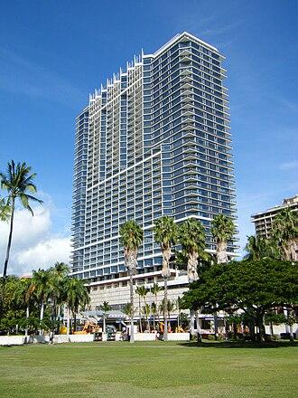 Trump International Hotel and Tower (Honolulu) - Image: Trump Tower Honolulu