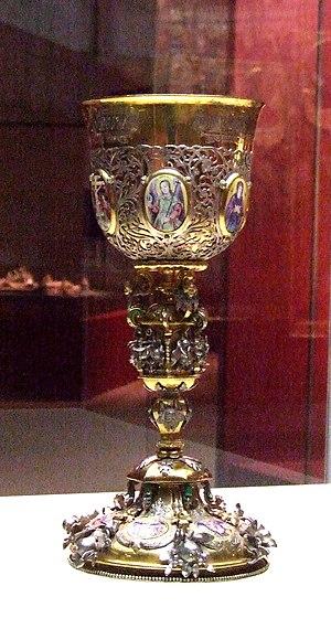 Catherine Alekseyevna of Russia - Image: Tsarevna Ekaterina Alexevna's potir