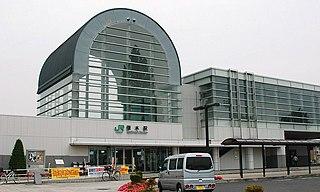 Tsukinoki Station Railway station in Shibata, Miyagi Prefecture, Japan