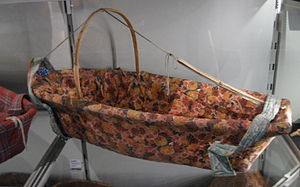 Tsilhqot'in - Image: Tsilhqot'in baby cradle (UBC2010a)
