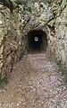 Tunnel between Pont du Gard and Pont de Valmale.jpg