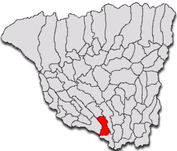 Location of Turceni