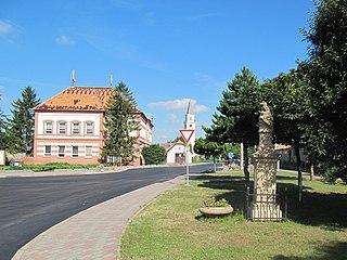 Tvrdonice Municipality in South Moravian, Czech Republic