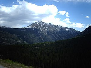 Twilight Peak - Twilight Peak from the Million Dollar Highway
