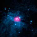 Two ultraluminous X-ray sources in core of Messier 82 (nustar141008a1).jpg